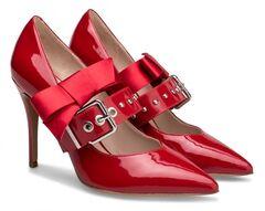 Обувь женская Ekonika Туфли EN1163-02 red chili-18Z