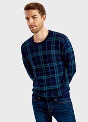 Кофта, рубашка, футболка мужская O'stin Джемпер в клетку MK1T62-68