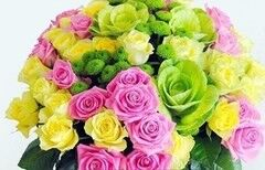 Магазин цветов Florita (Флорита) Букет «Микс роз»