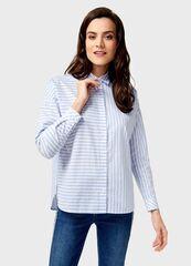 Кофта, блузка, футболка женская O'stin Рубашка в полоску LS1U42-61