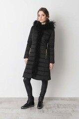 Верхняя одежда женская Elema Пальто женское плащевое утепленное Т-6569