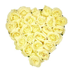 Магазин цветов Фурор Композиция «Белое сердце»