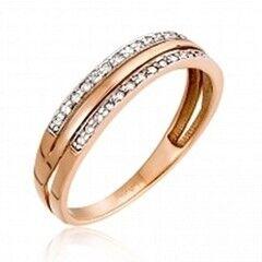 Ювелирный салон Jeweller Karat Кольцо золотое с бриллиантами арт. 1211902