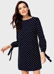 Платье женское O'stin Платье с принтом LR4U15-68