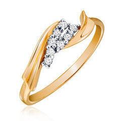 Ювелирный салон Jeweller Karat Кольцо золотое с бриллиантами арт. 3216138/9