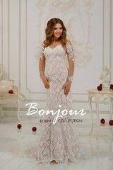 Свадебный салон Bonjour Свадебное платье «Keila» из коллекции EDEM 2016