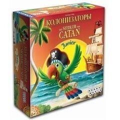 Магазин настольных игр Hobby World Настольная игра «Колонизаторы Junior»