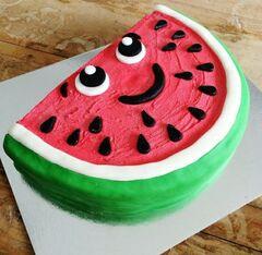 Торт DOLCE Детский торт «Весёлый Арбузик»