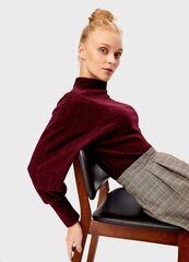 Кофта, блузка, футболка женская O'stin Водолазка с объёмными рукавами LT1T72-X8