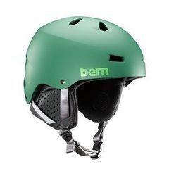 Сноубординг Bern Шлем Macon EPS Matte Leaf Green