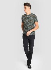 Брюки мужские O'stin Чёрные зауженные джинсы MP1W42-99