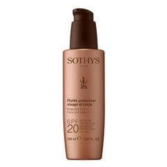 Уход за лицом Sothys Защитный флюид для лица и тела Protective fluid face and body SPF 20
