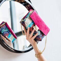 Магазин сумок Vezze Кожаная женская сумка C00468
