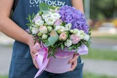 Магазин цветов Cvetok.by Коробочка «Прованс»