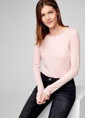 Кофта, блузка, футболка женская O'stin Футболка из хлопка с длинными рукавами LT6T52-X1