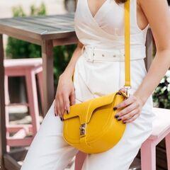 Магазин сумок Vezze Кожаная женская сумка C00496