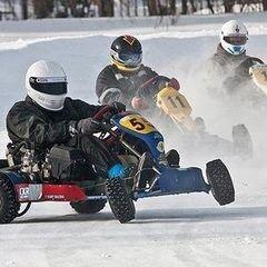 Магазин подарочных сертификатов Grappa Motorsport Сертификат «Незабываемые гонки на зимних картингах»