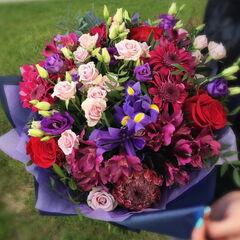 Магазин цветов Прекрасная садовница Букет мужской «Ягодный микс»