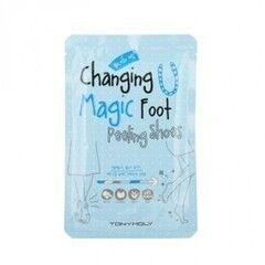 Уход за телом TONYMOLY Носочки для пилинга Changing U Magic Foot Peeling Shoes