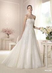 Свадебное платье напрокат А-силуэт White One (Pronovias) Платье свадебное «Darcy»