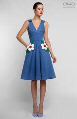 Платье женское Pintel™ Приталенное джинсовое платье без рукавов RICOTTA