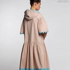 Платье женское Pintel™ Спортивное миди-платье свободного силуэта Yamichi