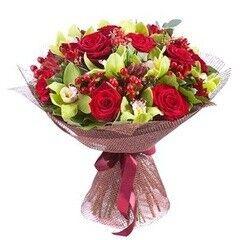 Магазин цветов LION Букет «Контрасты»