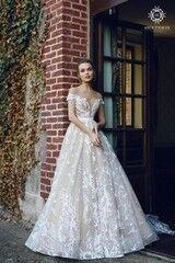 Свадебное платье напрокат А-силуэт Ange Etoiles Платье свадебное AEriality Collection  Etel