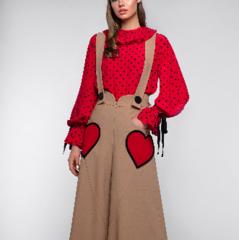 Костюм женский Pintel™ Комплект из блузы и брюк Manolis