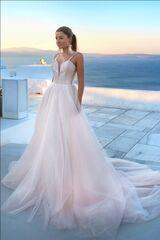 Свадебное платье напрокат А-силуэт Rafineza Свадебное платье Anabel прокат