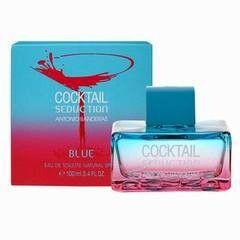 Парфюмерия Antonio Banderas Туалетная вода Cocktail Seduction Blue Women, 100 мл