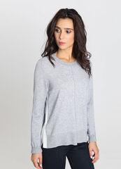 Кофта, блузка, футболка женская O'stin Джемпер с контрастными полосами по боковым разрезам LK4V62-92