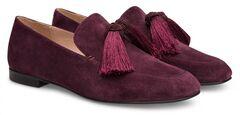 Обувь женская Ekonika Лоферы EN1113-06 dk.bordo-18Z