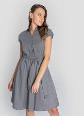 Платье женское O'stin Хлопковое платье на поясе LR4W84-64