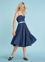 Платье женское Ermanno Scervino Платье SS18 джинсовое