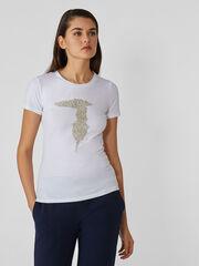 Кофта, блузка, футболка женская Trussardi Футболка женская 56T00237-1T003614