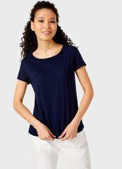 Кофта, блузка, футболка женская O'stin Базовая футболка из хлопка LT6UA1-68