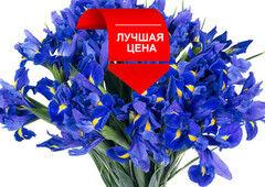 Магазин цветов Долина цветов Букет ирисов