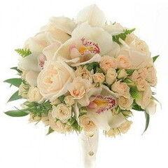 Магазин цветов Фурор Букет с орхидеей