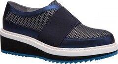 Обувь женская Ekonika 2 Полуботинки женские 1011-02 blue