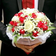 Магазин цветов Lia Свадебный букет №6
