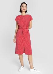 Платье женское O'stin Платье прямого силуэта в полоску LR4W83-14