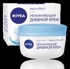 Уход за лицом NIVEA Увлажняющий дневной крем Aqua Effect
