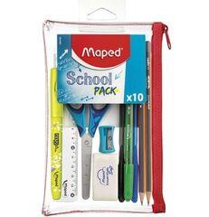 Товар для рукоделия Maped Пенал «Transparent School» на 1 отделение