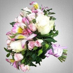 Магазин цветов VGosti.by Свадебный букет «Волшебный день»
