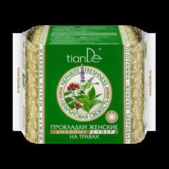 Уход за телом tianDe Прокладки женские на травах «Нефритовая свежесть» дневные супер