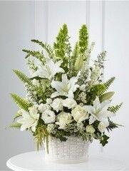 Магазин цветов Cvetok.by Цветочная корзина «Воздушные облака»