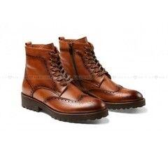 Обувь мужская Keyman Ботинки мужские броги рыжие