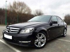 Аренда авто Mercedes-Benz C-class W204 2012 год