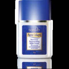 Уход за лицом tianDe Питательный восстанавливающий ночной крем Marine Collagen